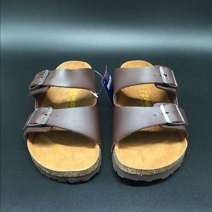 Birkenstock Arizona classic sandal size 38 brown
